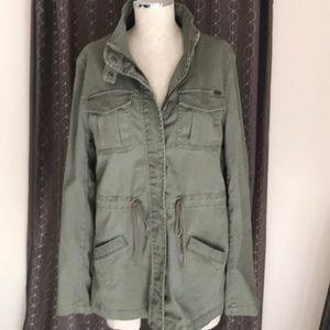 Max Studio Olive Green Field Jacket